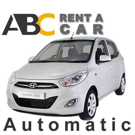 Car rental Thessaloniki Halkidiki HYUNDAI i 10 Automatic