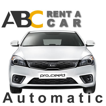 Car rental Thessaloniki Halkidiki KIA CEED Automatic