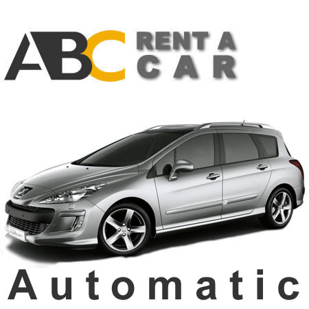 Car rental Thessaloniki Halkidiki Peugeot 308 Automatic Station Wagon