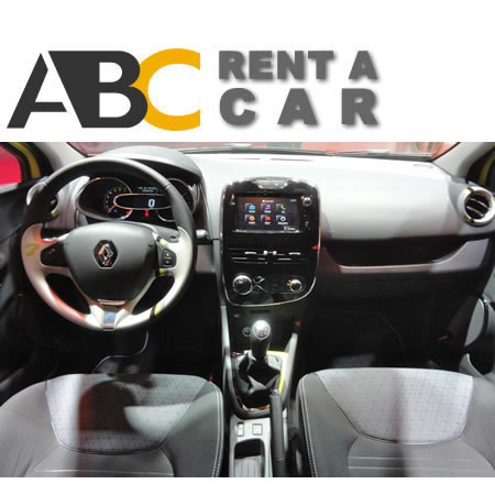 rentcar Thessaloniki Chalkidiki Renault Clio