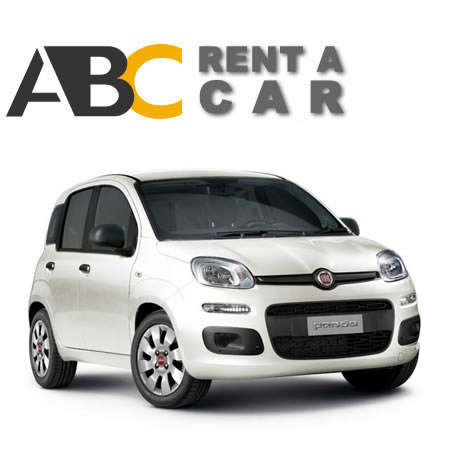 Car rental Thessaloniki Halkidiki Fiat Panta pop