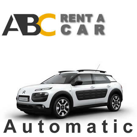 Car rental Thessaloniki Halkidiki Citroen Cactus automatic