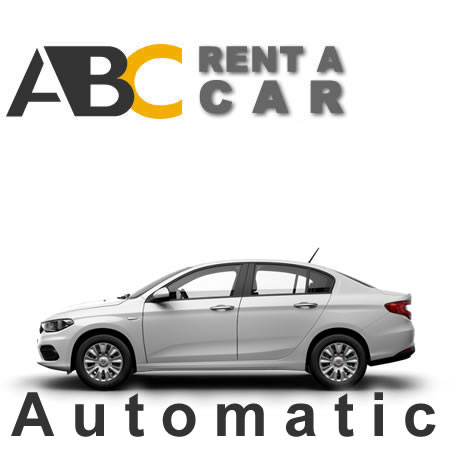 Car rental Thessaloniki Halkidiki FIAT TIPO Automatik