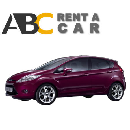 Car rental Thessaloniki Halkidiki Ford Fiesta