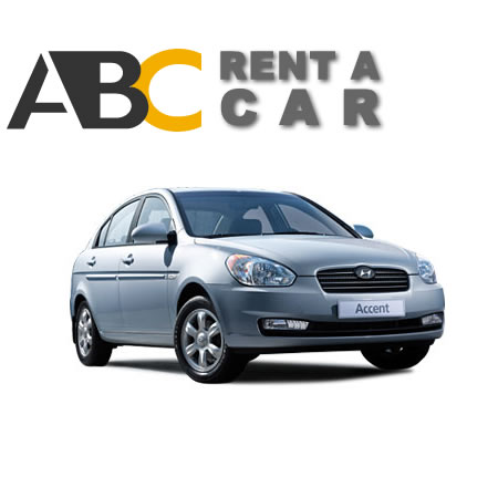 rentcar Thessaloniki Chalkidiki rent car HYUNDAI Accent