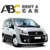rent car Thessaloniki Chalkidiki Fiat Scudo Diesel